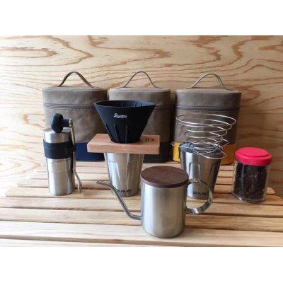 画像3: コーヒーポーチ (ベージュ×イエロー)